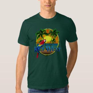 Puesta del sol de Key West Camisas