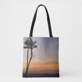 Puesta del sol de Key West de la bolsa de asas