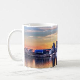 Puesta del sol de Louisville Taza De Café