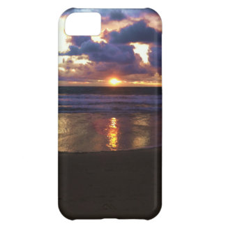 Puesta del sol de Marina Del Rey Carcasa Para iPhone 5C
