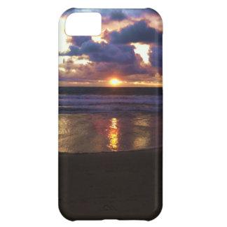 Puesta del sol de Marina Del Rey Funda Para iPhone 5C