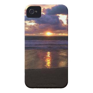 Puesta del sol de Marina Del Rey iPhone 4 Case-Mate Coberturas