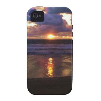 Puesta del sol de Marina Del Rey iPhone 4/4S Fundas
