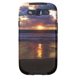 Puesta del sol de Marina Del Rey Galaxy S3 Cárcasa