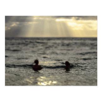 Puesta del sol de Maui, Hawaii Postal