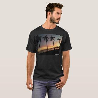 Puesta del sol de Miami Beach Camiseta