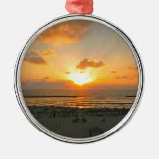 Puesta del sol de Tel Aviv Ornato