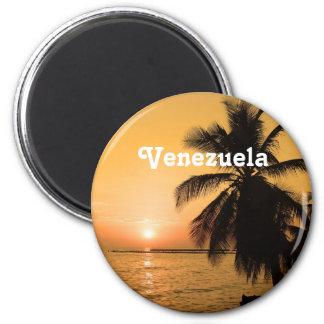 Puesta del sol de Venezuela Iman De Nevera