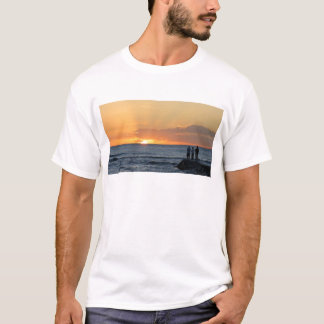 Puesta del sol de Waikiki Camiseta