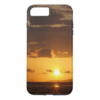 Puesta del sol de Waikiki Funda iPhone 7 Plus