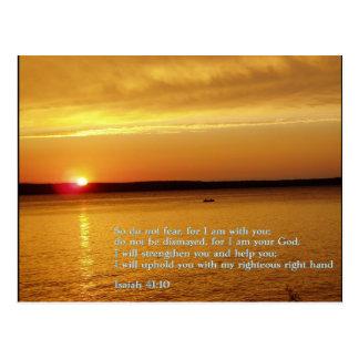 Puesta del sol del 41:10 de Isaías Postal