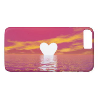 Puesta del sol del amor - 3D rinden Funda iPhone 7 Plus