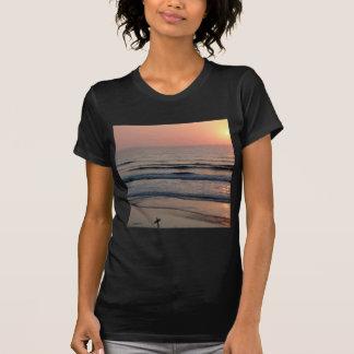Puesta del sol Del Mar California Camiseta