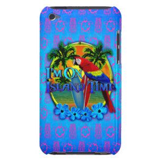 Puesta del sol del tiempo de la isla iPod touch Case-Mate cárcasas