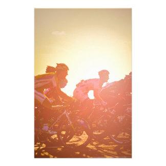 Puesta del sol del Tour de France Papelería Personalizada