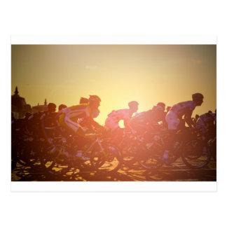Puesta del sol del Tour de France Postal