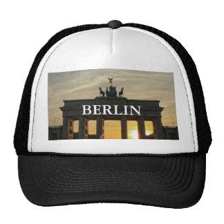Puesta del sol en la puerta de Brandeburgo, Berlín Gorro