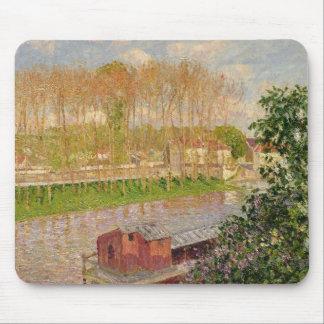 Puesta del sol en Moret-sur-Loing, 1901 Alfombrilla De Ratón