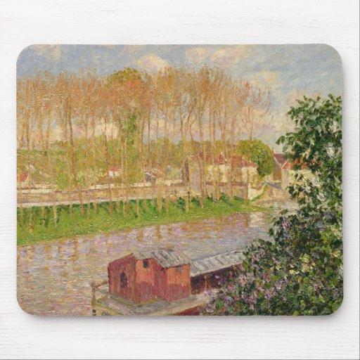 Puesta del sol en Moret-sur-Loing, 1901 Alfombrillas De Ratones