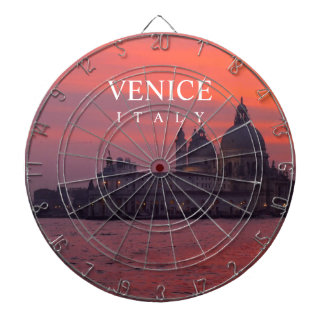 Puesta del sol en Venecia Tabla Dardos