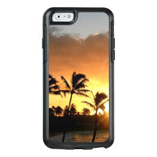 Puesta del sol hawaiana de la playa funda otterbox para iPhone 6/6s