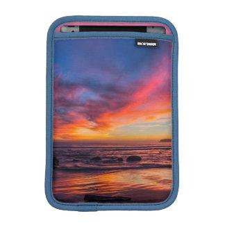 Puesta del sol sobre el Pacífico de Coronado 2 Fundas Para iPad Mini