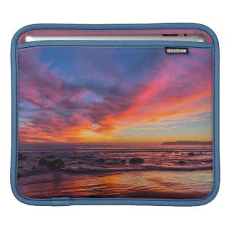 Puesta del sol sobre el Pacífico de Coronado 2 Mangas De iPad