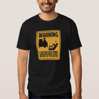 Puesto de informaciones camiseta