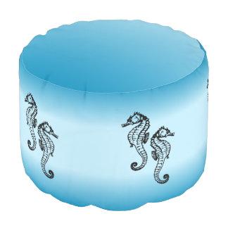 Puf Azul del Seahorse