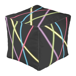 Puf del cubo de los lasers
