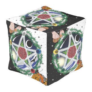 Puf del cubo de Wiccan