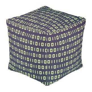 Puf del cubo del código binario