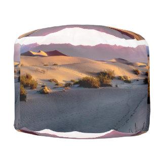 Puf Dunas de arena planas del Mesquite Death Valley