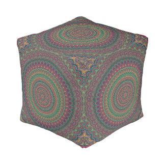 Puf Mandala de la flor