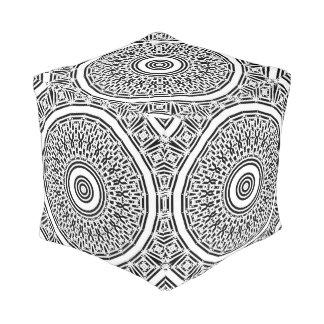 Puf Mandala de los pedazos