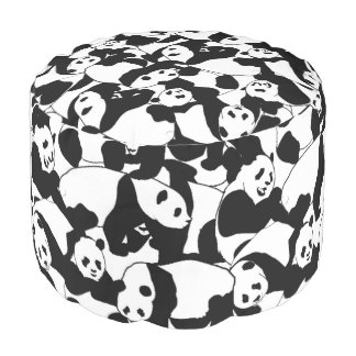 Puf Modelo de la panda