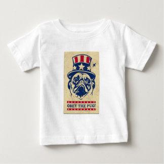 Pug Camiseta De Bebé