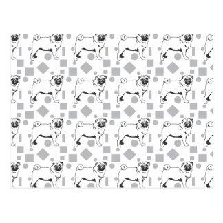 Pug pattern postal