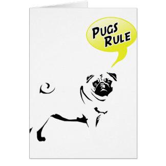 Pug Rules Felicitacion
