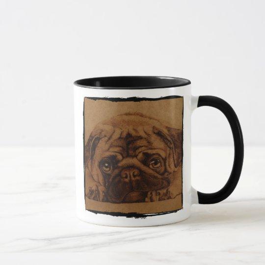 Pug taza
