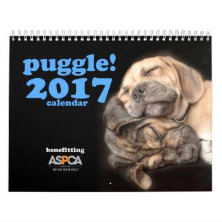 ¡Puggle! Calendario 2017