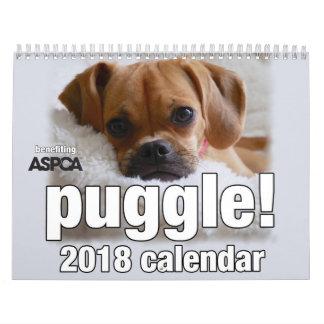 ¡Puggle! Calendario 2018