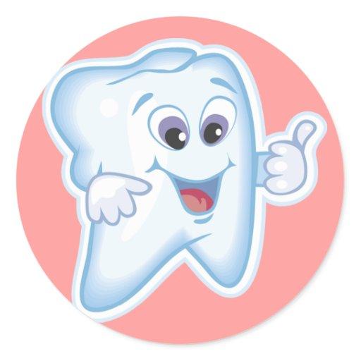Pulgares para arriba para la higiene dental pegatinas - Pegatinas para la pared ...