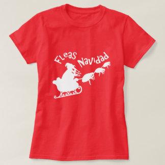 Pulgas Navidad Camiseta