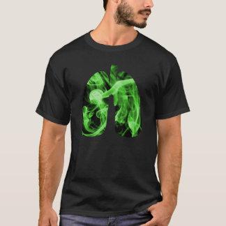 Pulmones verdes camiseta