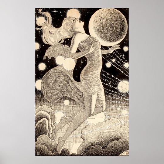 Pulpa de las estrellas y de los planetas de la póster