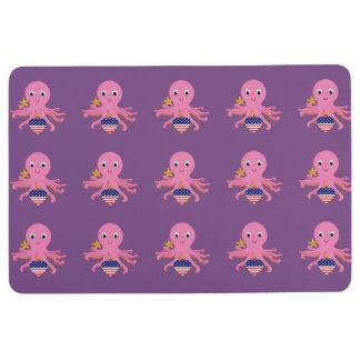Pulpo antideslizante tejado de la estera de la alfombra