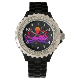Pulpo del caramelo de algodón - el reloj diamante