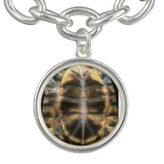 Pulsera Con Dije cáscara de la tortuga