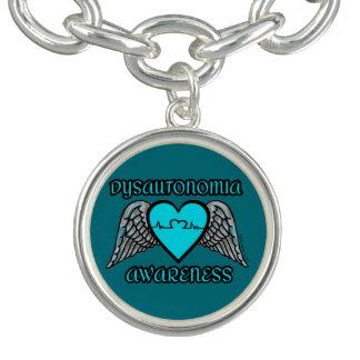 Pulsera Con Dije Corazón/alas… Dysautonomia